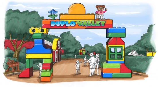 DUPLO Valley concept artwork - LEGOLAND Florida.