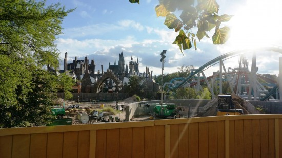 Harry Potter expansion work.