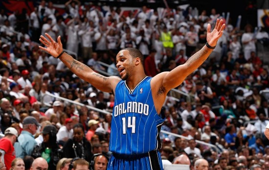 Jameer Nelson - Orlando Magic at the Amway Center.