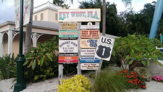 Key West at SeaWorld Orlando.