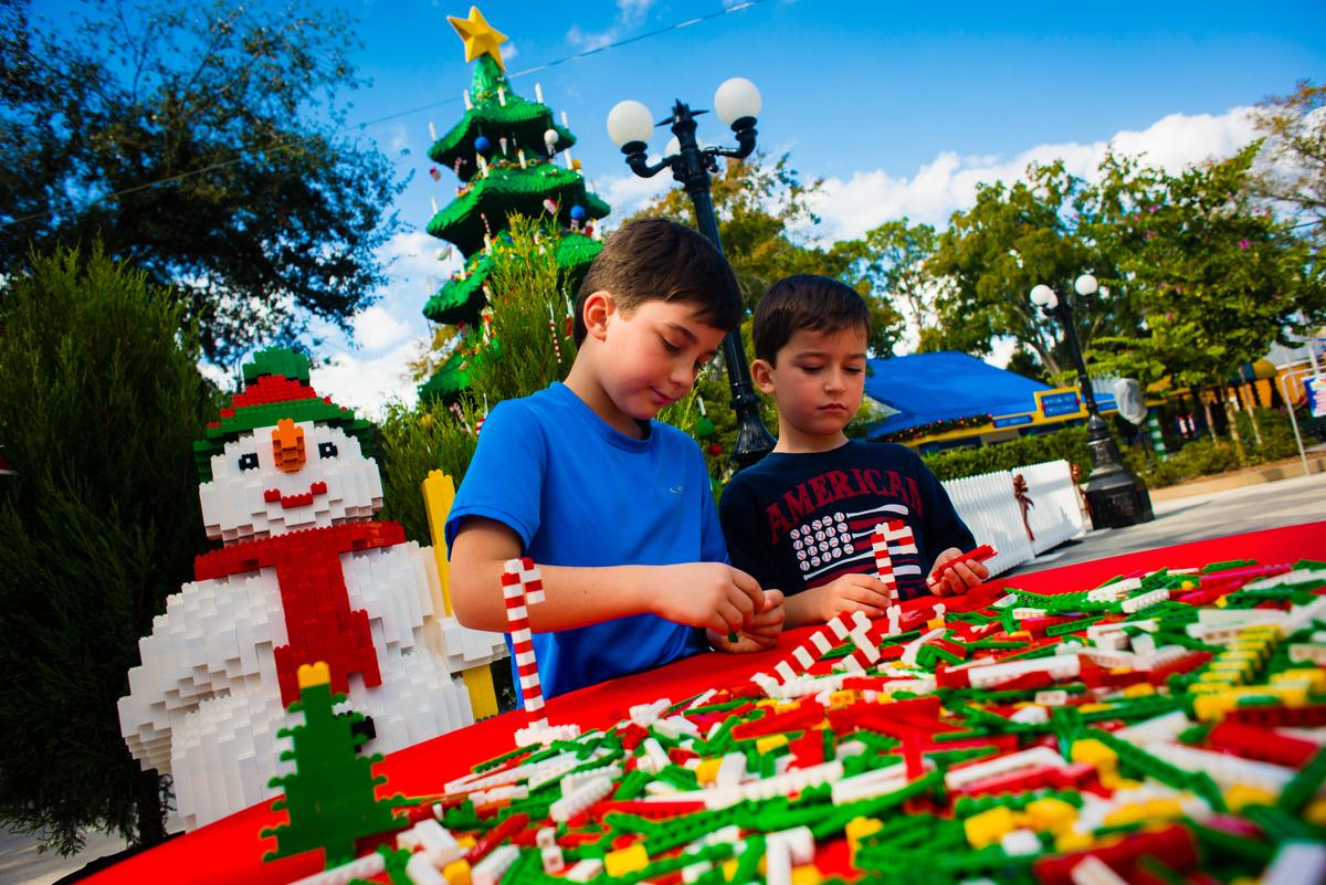 LEGOLAND Florida announces Christmas Bricktacular holiday ...