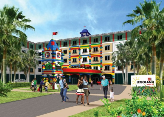 LEGOLAND Florida hotel to open in 2015.