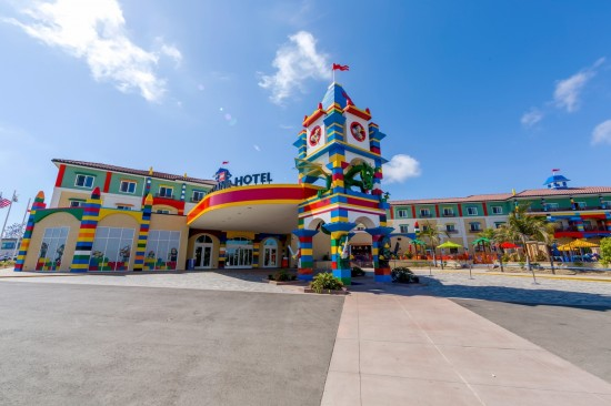 LEGOLAND Hotel in California.