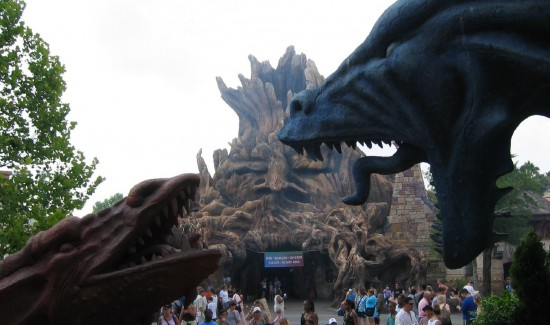 The truly Lost Continent: Dueling Dragons and Enchanted Oak.