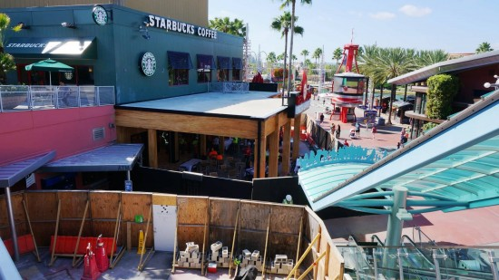 Universal CityWalk construction - November 8, 2013.
