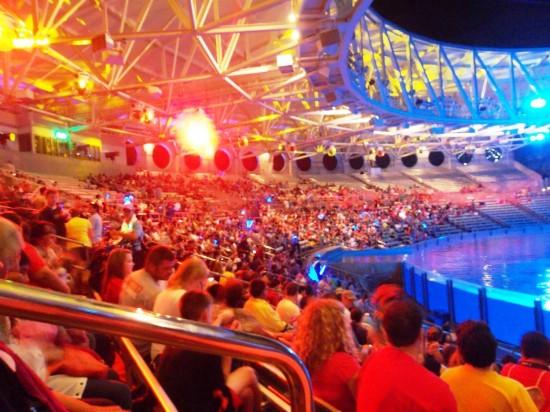 SeaWorld Orlando Christmas Celebration 2013.