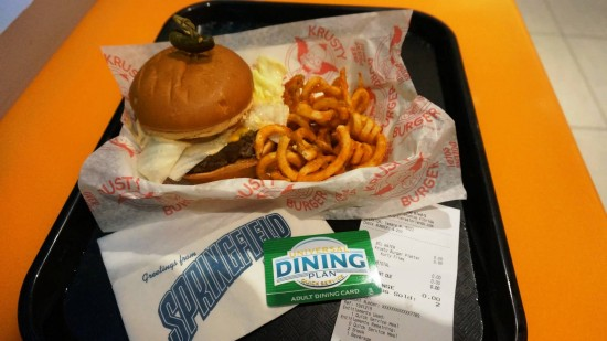 Universal Dining Plan - Quick Service accepted at Simpsons Fast Food Blvd.