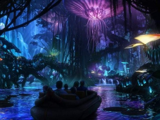 Avatar at Disney's Animal Kingdom - concept artwork.