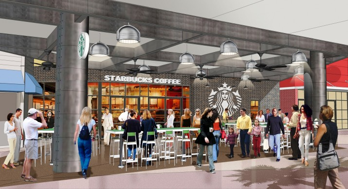 Starbucks at Universal CityWalk.