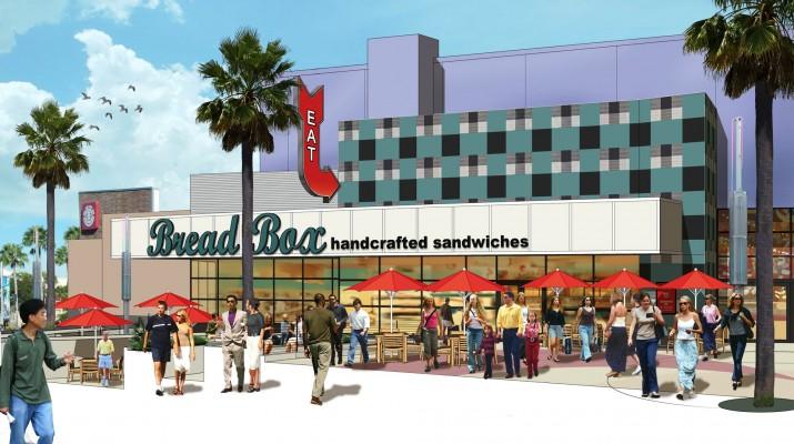 Bread Box at Universal CityWalk.