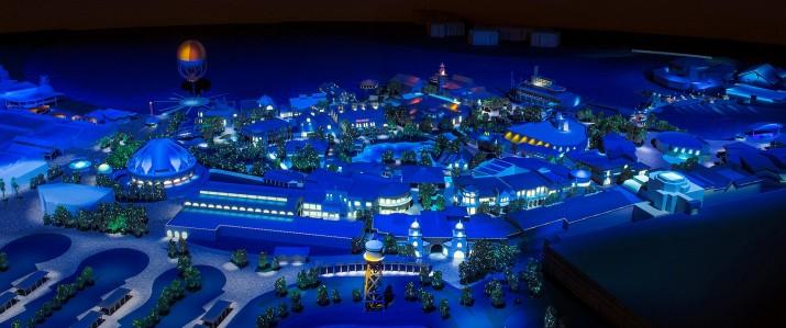 Disney Springs model.