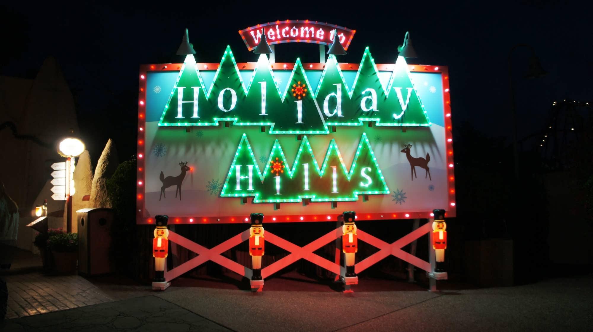 Busch Gardens Tampa trip report December 2013 Christmas Town