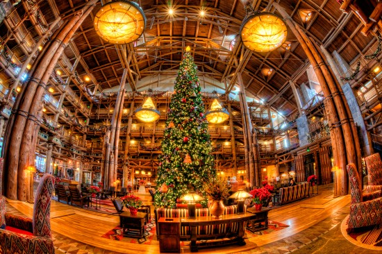 Disney's Wilderness Lodge.