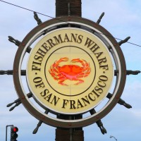 Official Logo of Fisherman's Wharf of San Francisco.