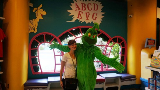 """Classic"" Grinch meet-and-greet character."