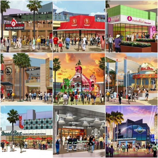 Universal CityWalk expansion.