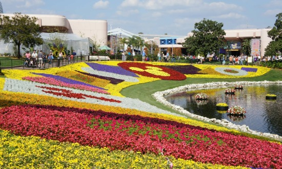 Epcot International Flower & Garden Festival.