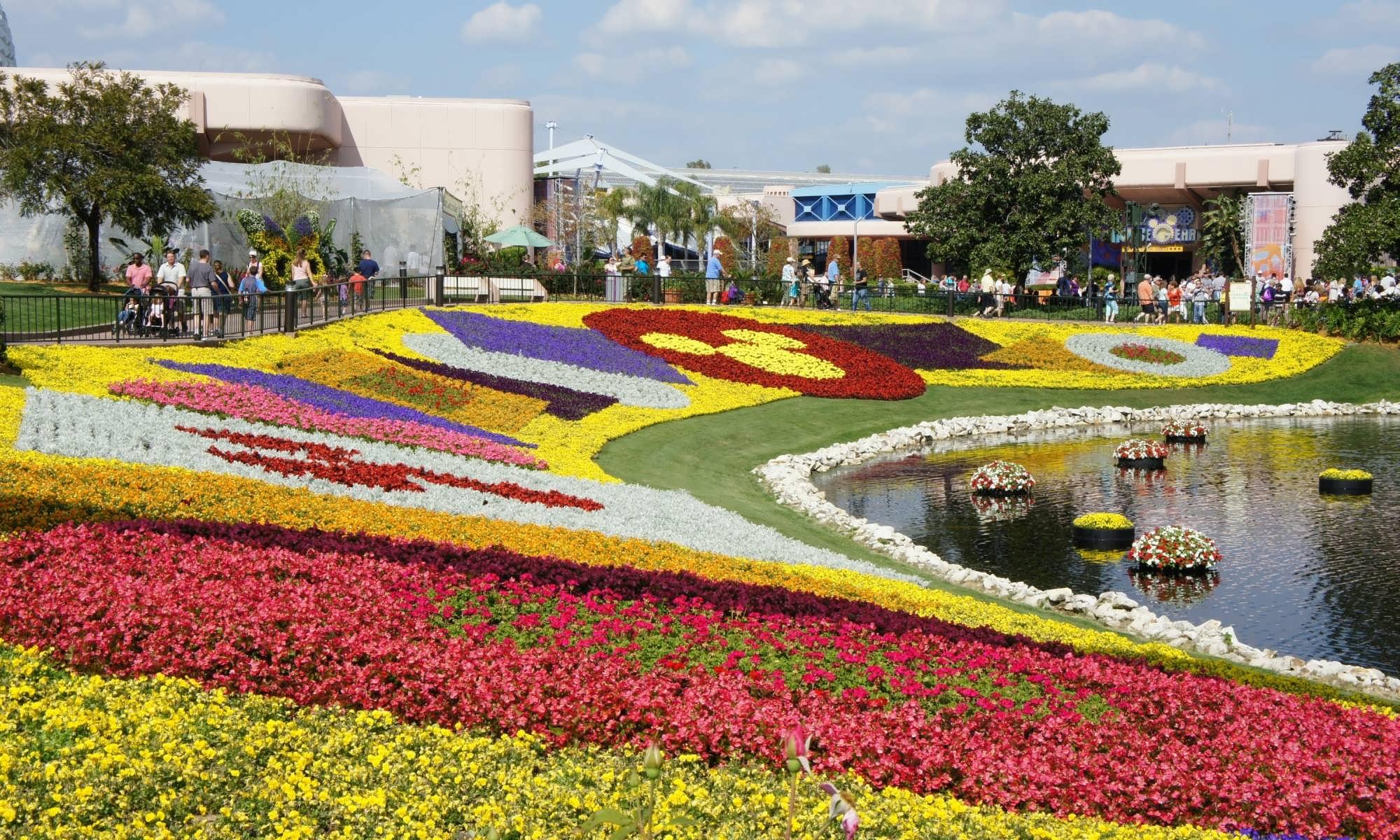 The 21st Epcot International Flower Garden Festival Set