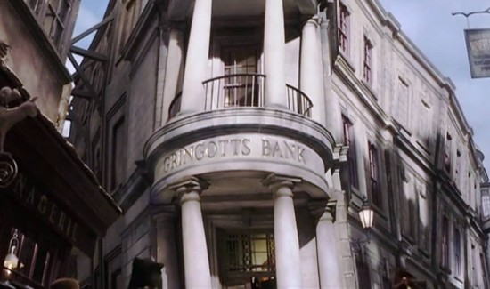 Welcome to Gringotts Bank.