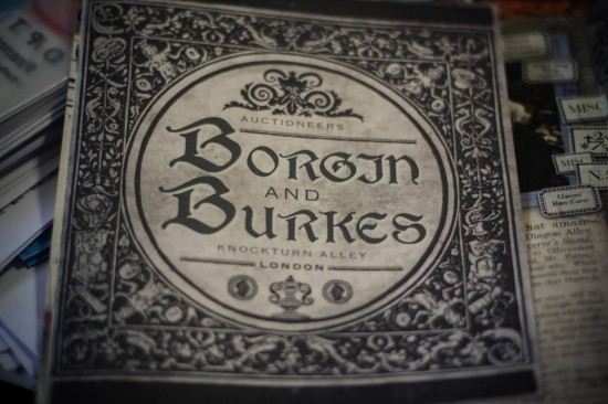 Borgin and Burkes catalog.
