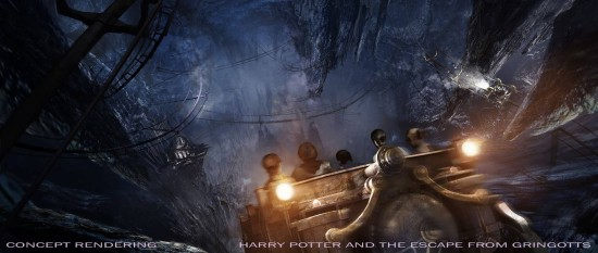Harry Potter and the Escape from Gringotts - Diagon Alley at Universal Orlando.
