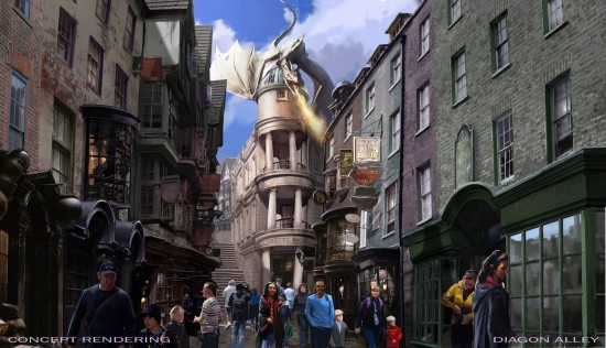 Diagon Alley at Universal Orlando.