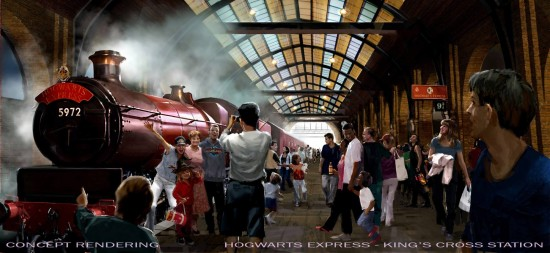 King's Cross Station - Diagon Alley at Universal Orlando.