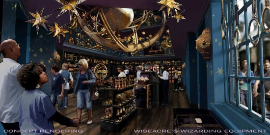 Wiseacre's Wizarding Equipment - Diagon Alley at Universal Orlando.