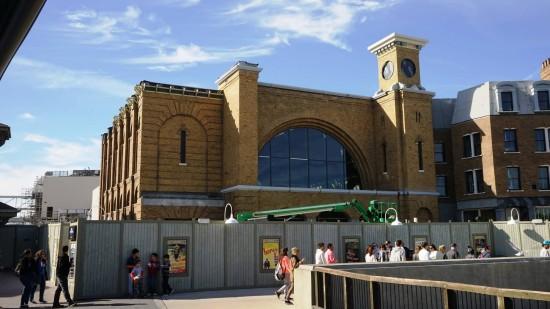 King's Cross Station at Universal Studios Florida - January 17, 2014.