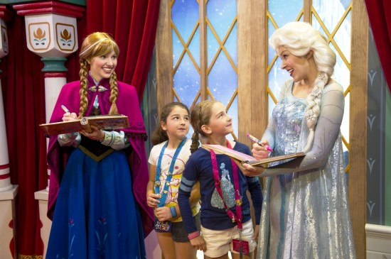 Frozen meet-and-greet at Epcot.