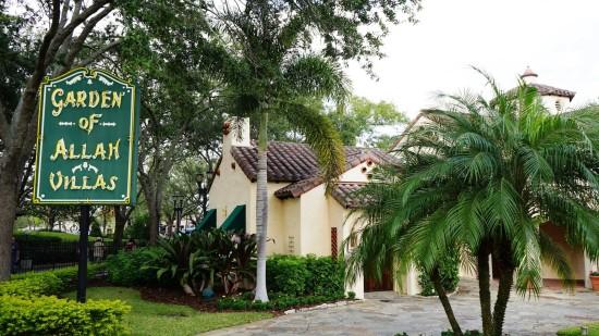 Garden of Allah Villas at Universal Studios Florida.