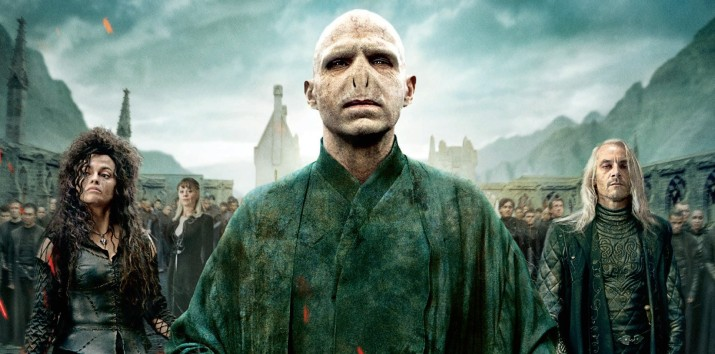 Lord Voldemort and his army.