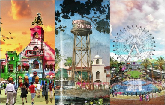 CityWalk 2.0 vs. Disney Springs vs. the Orlando Eye.
