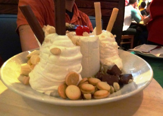 Jimmy Buffett's Chocolate Hurricane.