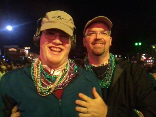 Universal Studios Florida trip report - Mardi Gras 2014.