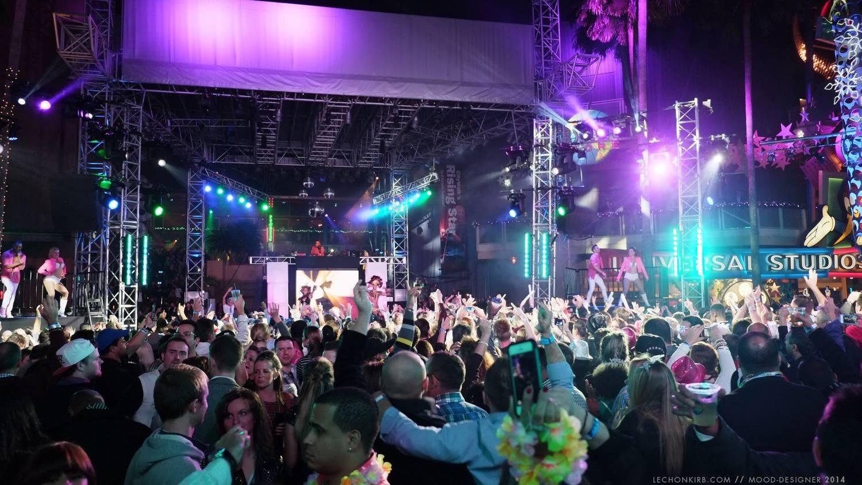 DJ M-Squared at Universal CityWalk's EVE 2013