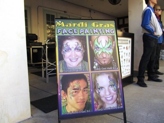 Mardi Gras at Universal Studios Florida.