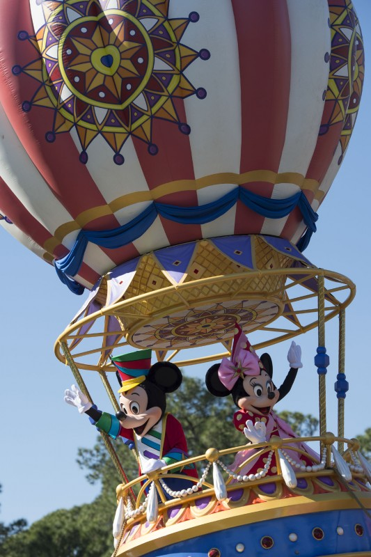 Disney Festival of Fantasy parade.