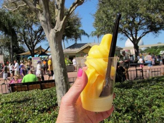 Epcot's outdoor kitchens – March 2014.