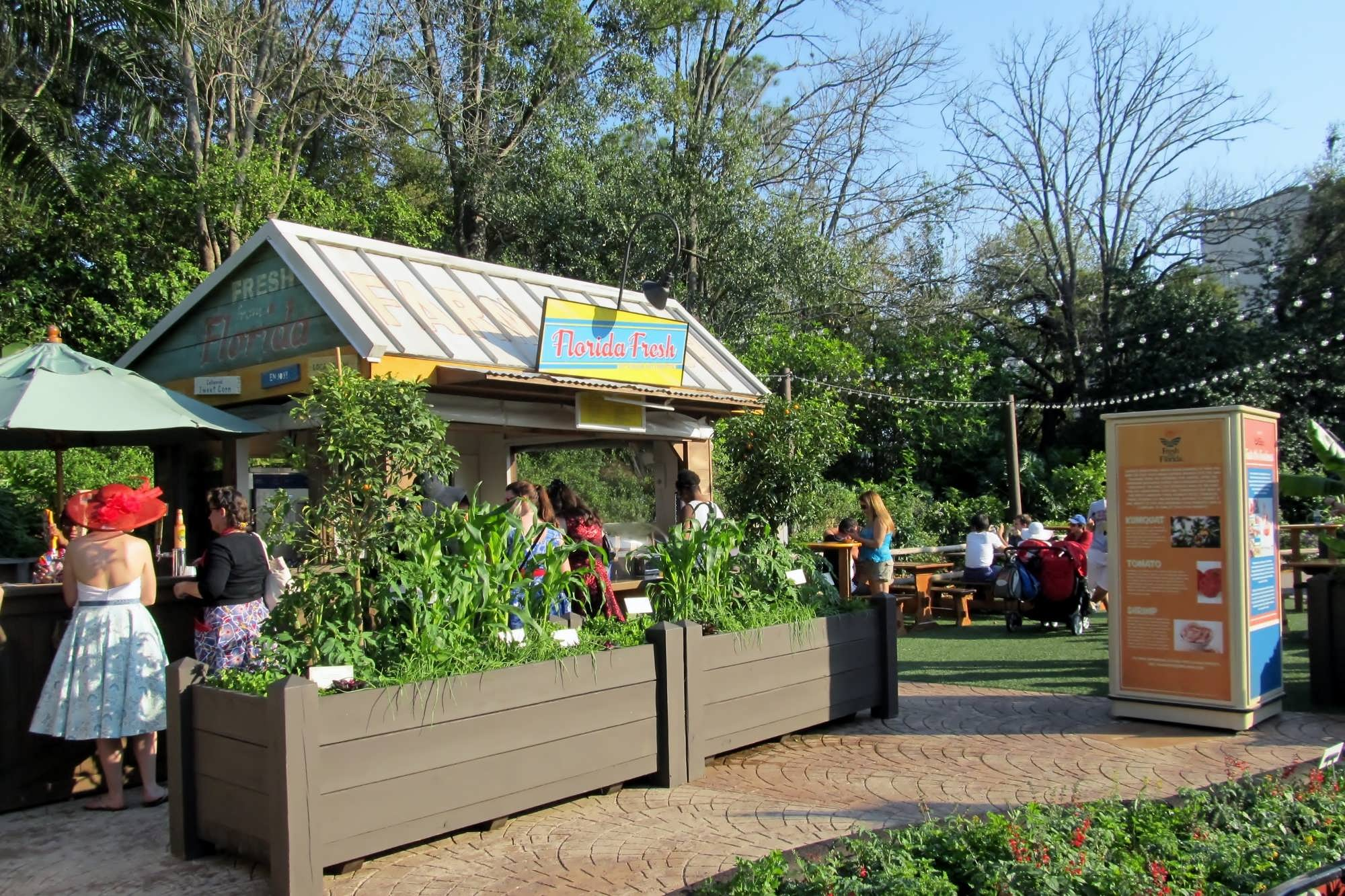 Garden Kitchens Outdoor Kitchens At The 2014 Epcot Flower Garden Festival Try