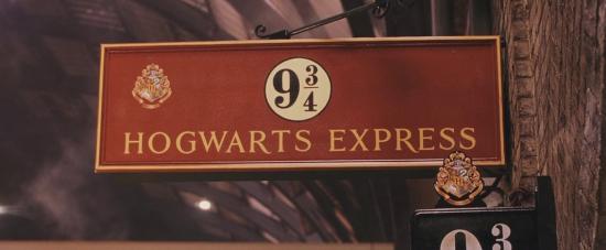 Platform 9¾.