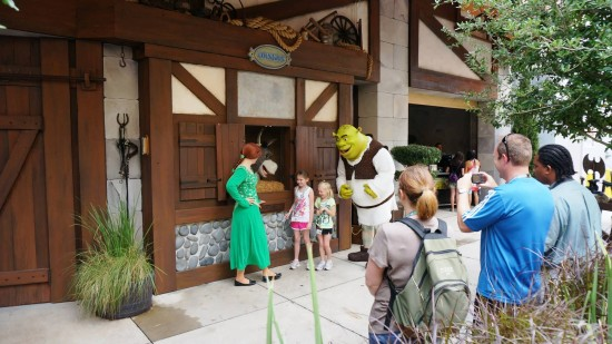 Say goodbye to this: Shrek meet-and-greet at Universal Studios Florida.