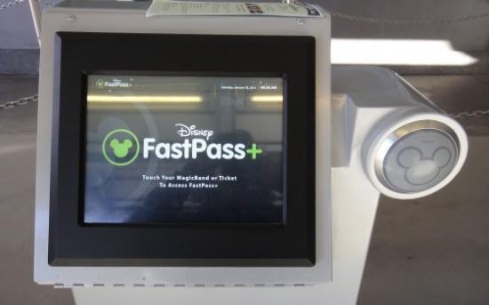 FastPass+ kiosk.