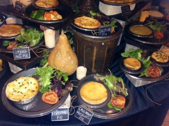 The Leaky's Cauldron's menu. Yum!