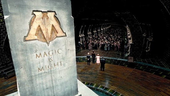 The fall of the Ministry of Magic.