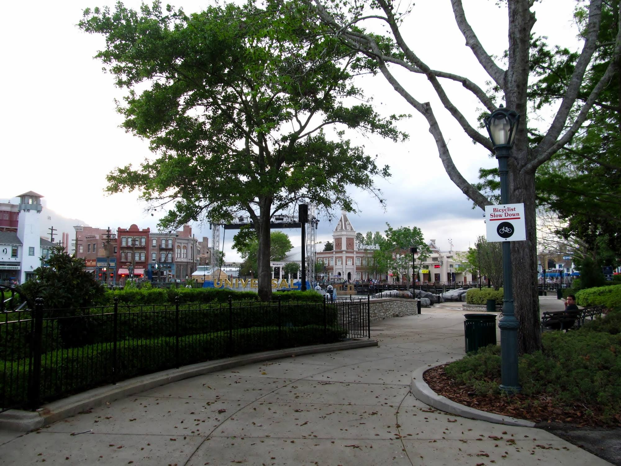 Central Park at Universal Studios Florida