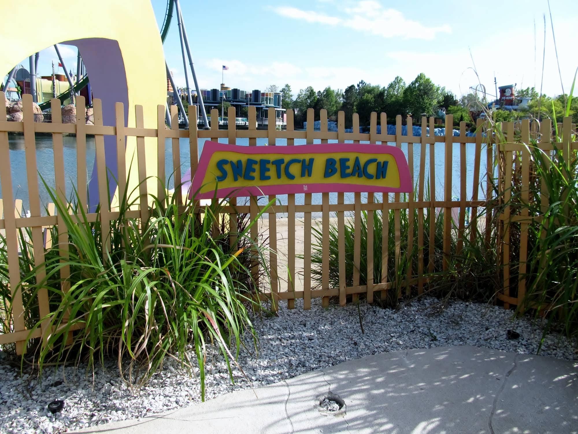 Sneetch Beach at Seuss Landing