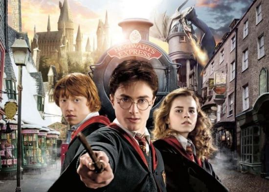 The Wizarding World of Harry Potter - Hogsmeade & Diagon Alley.