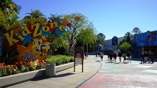 Woody Woodpecker's KidZone at Universal Studios Florida.