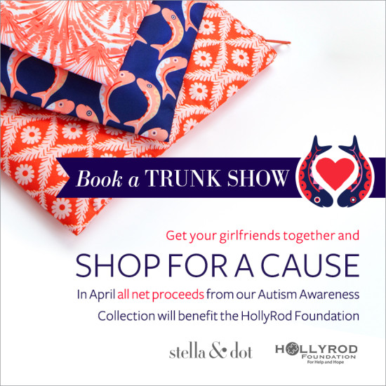 Shop with a cause.
